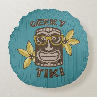 Almofada Redonda Tiki Geeky