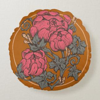 Almofada Redonda Travesseiro barroco do buquê