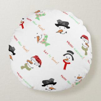 Almofada Redonda Travesseiro bonito para o Natal