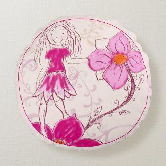 Almofada Redonda Travesseiro/coxim redondos, florista