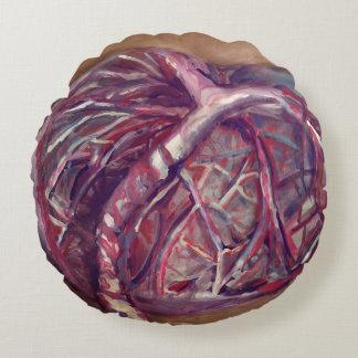 Almofada Redonda Travesseiro da placenta - presente engraçado para