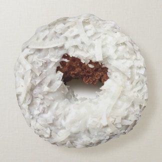 Almofada Redonda Travesseiro da rosquinha do coco