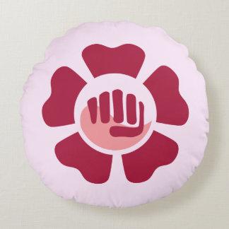 Almofada Redonda Travesseiro de PunchFlower