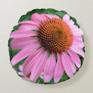 Almofada Redonda Travesseiro decorativo 4 floral