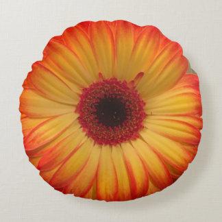 Almofada Redonda Travesseiro decorativo da margarida
