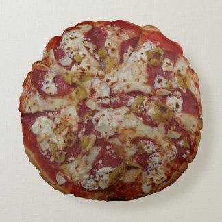 Almofada Redonda Travesseiro decorativo de Rustica da pizza