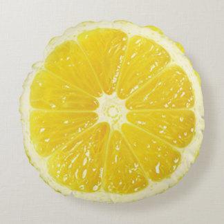 Almofada Redonda Travesseiro decorativo do limão
