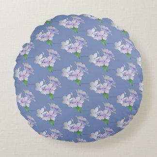 Almofada Redonda Travesseiro decorativo - Phlox do rastejamento