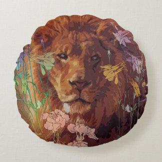Almofada Redonda Travesseiro decorativo redondo do algodão africano