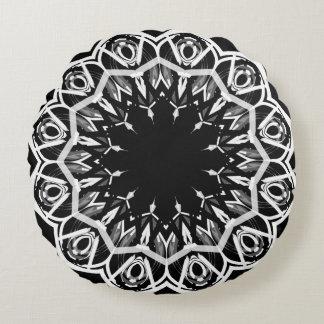 Almofada Redonda Travesseiro decorativo redondo do algodão da