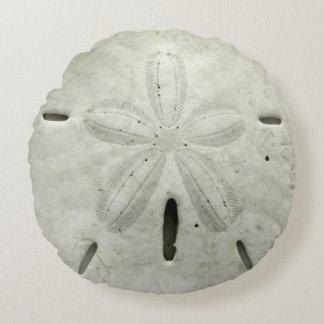 Almofada Redonda Travesseiro do dólar de areia