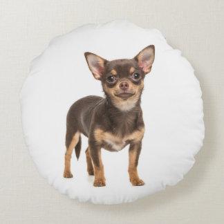 Almofada Redonda Travesseiro do filhote de cachorro da chihuahua