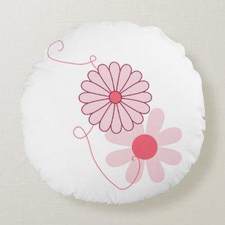 Almofada Redonda travesseiro floral