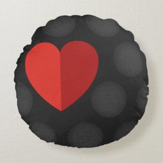 Almofada Redonda Travesseiro redondo agradável do amor