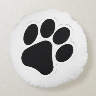 Almofada Redonda Travesseiro redondo da pata dos cães