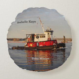 Almofada Redonda Travesseiro redondo de Rochelle Kaye