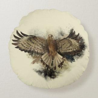 Almofada Redonda Travesseiro redondo do vôo do falcão