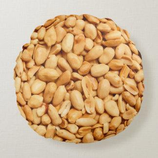 Almofada Redonda Travesseiros engraçados dos amendoins