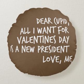 Almofada Redonda Tudo que eu quero para o dia dos namorados é um