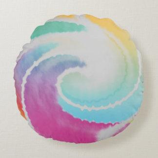 Almofada Redonda Twirl abstrato