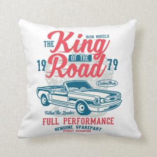 Almofada Rei do travesseiro decorativo da estrada