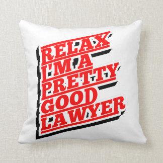Almofada Relaxe-me são um relativamente bom advogado