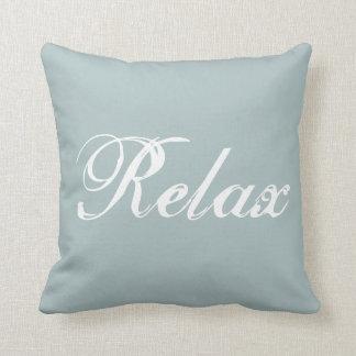 Almofada Relaxe o travesseiro decorativo
