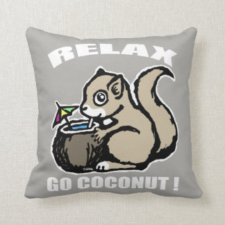 Almofada Relaxe! Vai o coco