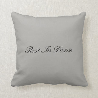 Almofada Resto na paz - travesseiro gótico