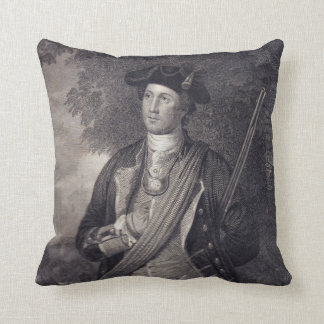 Almofada Retrato de George Washington do vintage
