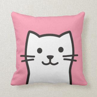 Almofada Retrato engraçado do gato