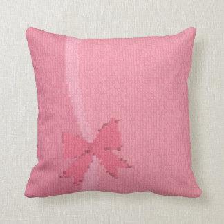 Almofada Reversible atual cor-de-rosa