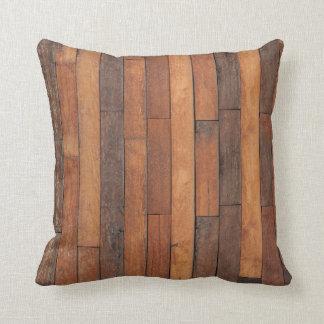 Almofada Revestimento de madeira gasto velho