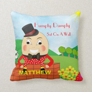 Almofada Rima de berçário bonito Humpty dos miúdos Dumpty