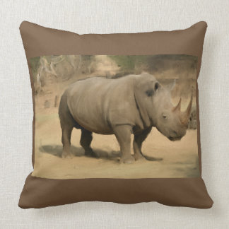 Almofada Rinoceronte africano