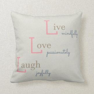 Almofada Riso vivo do amor