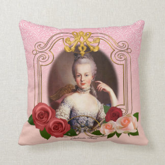 Almofada Romantic Marie Antoinette Throw Pillow Pink クッション