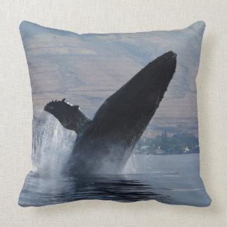 Almofada rompimento da baleia do humback