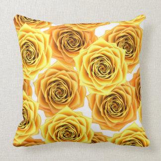 Almofada rosa 3d amarelo