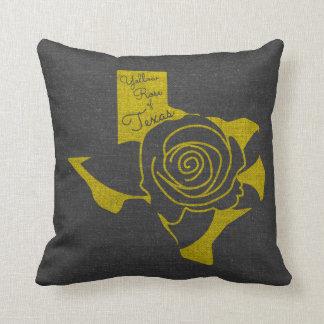 Almofada Rosa amarelo de Texas