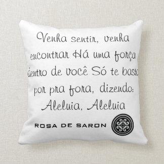 Almofada Rosa de Saron Travesseiro