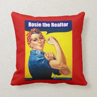 Almofada Rosie o corretor de imóveis