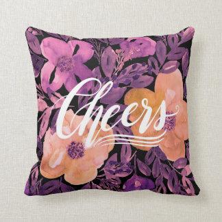 Almofada roteiro da mão & travesseiro pintado mão do