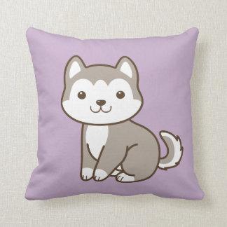 Almofada Roxo ronco bonito do travesseiro decorativo do cão