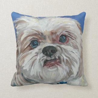 Almofada Rubi o travesseiro do retrato de Shih Tzu