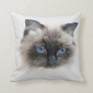 Almofada Samson: Gato preto, de olhos azuis
