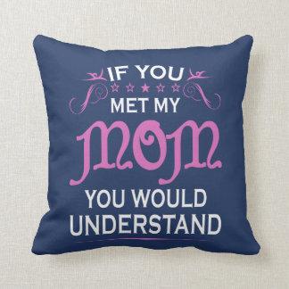Almofada Se você encontrou minha mamã