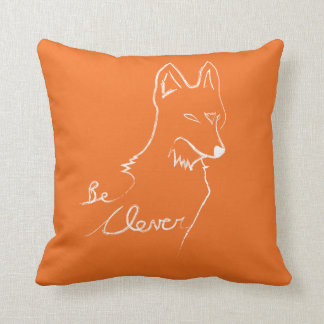 Almofada Seja claro, diga o Fox