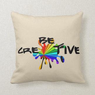 Almofada Seja criativo
