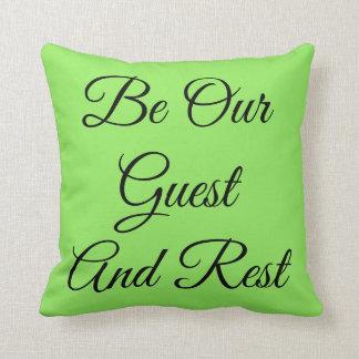Almofada Seja nosso travesseiro decorativo ideal do
